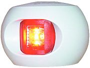 Aqua Signal 343037 Series 34 White Port LED Bulkhead Side Light - Red