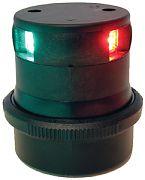 Aqua Signal 34606-7 LED Tricolor Black Hsg