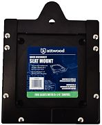 Attwood 11602D1 Quick Disconnect Seat Mount 6-1/4""