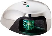 Attwood 3550G7 LED Stainless Steel Deck Mount Green Starboard 2NM Side Light