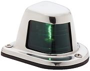 Attwood 66319G7 Starboard Stainless Steel Side Light - Green
