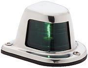 Attwood 66319G7 Starboard Stainless Steel Side Light - Green