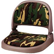 Attwood 70126064 Proform Fold Down Boat Seat - Olive/Camo Cordura