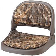 Attwood 70127064 Proform Fold Down Boat Seat - Olive/Shadow Grass