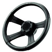 "Attwood 83154 13"" Soft Grip Steering Wheel with Cap"