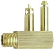 "Attwood 88736 1/4"" Brass Male Tank Fitting"
