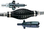"""Attwood 93806ALP7 3/8"""" x 6´ Mercury Fuel Line Hose Kit"""