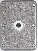 "Attwood Swivl-Eze 6773 Lock´N-Pin Stainless Steel Base Plate, Bronze Bushing - 7"" x 7"", Non-Threaded Bushing"
