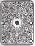 "Attwood Swivl-Eze 6773-T Lock´N-Pin Stainless Steel Base Plate, Bronze Bushing - 7"" x 7"", Threaded Bushing"