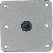 Attwood Swivl-Eze 67739-SS Locknpin 3/4 Base Plate 7X7 SS