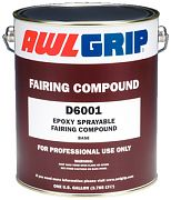 Awlgrip D6001G Sprayable Fairing Compound Base Gallon