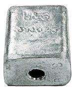 B&S Marine BSMO393023 Zinc Cube for J & E