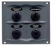BEP Marine 900-4WP 4 Way Switch Panel