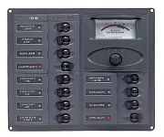 BEP Marine 902-AM 12 Way DC Circuit Breaker Panel