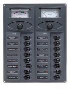BEP Marine 904-AM 16 Way DC Circuit Breaker Panel