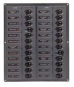 BEP Marine 905NMV 24 Way DC Circuit Breaker Panel Vertical