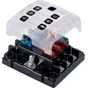 BEP Marine ATC6WQC 6 Gang ATC Fuse Holder - Quick Connect