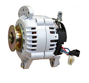 Balmar 60-100-SV Alternator, 100A, 12V, Saddle Mount, 3.15in, Single Pulley, Isolated Ground