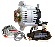 Balmar 60-70-SV Charging Kit - Alternator, ARS-5 Regulator, Temperature Sensors, Mounting Hardware