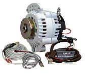 Balmar 621-VUP-100-SV Charging Kit - Alternator, ARS-5 Regulator, Temperature Sensors, Mounting Hardware