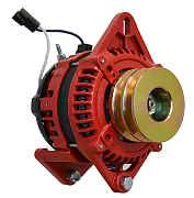 Balmar AT-DF-165-DV Alternator, AT Series, 165A, 12V, Saddle Mount, 3.15in, Dual Pulley, Isolated Ground