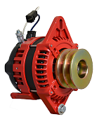 Balmar AT-SF-165-DV Alternator, AT Series, 165A, 12V, Spindle Mount, 1-2in, Dual Pulley, Isolated Ground