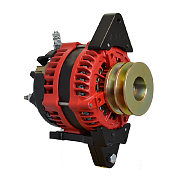 Balmar AT-SF-200-DV Alternator, AT Series, 200A, 12V, Spindle Mount, 1-2in, Dual Pulley, Isolated Ground