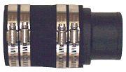 Barr Marine 20 0085P Adaptor Straight Exhaust 2.5IN