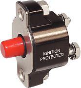 Blue Sea 2141 40A Medium Duty Push Button Reset Only Circuit Breaker