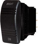 Blue Sea 8291 Black DC Digital Dimmer Switch - On/Off/On