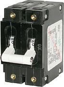 Blue Sea Systems 7251 Circuit Brkr CA2TOGGLE 50A Wht