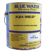 Blue Water Aqua Shield Water Base Ablative Bottom Paint Quart