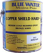 Blue Water Copper Shield 35 Hard Bottom Paint Quart