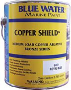 Blue Water Copper Shield 45 Ablative Bottom Paint Quart