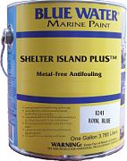 Blue Water Shelter Island Plus Solvent-Based Copper-Free Ablative Bottom Paint Gallon