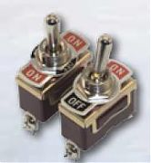 Boater Sports 51331 2 Terminal Brass Toggle Switch ON-OFF-ON