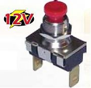 Boater Sports 51361 Momentary Push Switch MOM-OFF