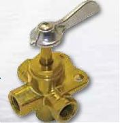 Boater Sports 53120 Brass 3-Way Fuel Valve