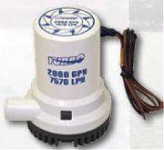 Boater Sports 57435 2000 GPH High Capacity Bilge Pump