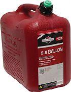 Briggs & Stratton 85060 Gas Can EPA 6 Gal