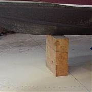 """Brownell Boat Stands B12 Wood Blocking 12"""" x 12"""" x 22"""""""