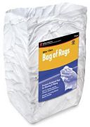 Buffalo 10524 Reclaimed White Knit Wipers 25# Box