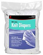 Buffalo 12071 Knitted Diaper Polishing Rags