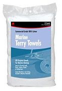Buffalo 60248 Marine Cotton Terry Towels 3-Pack Roll