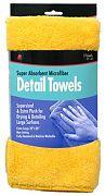 Buffalo 65004 Microfiber Detail Towels 2/PK