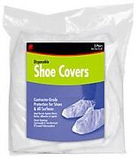 Buffalo 68431 Non-Skid Disposable Shoe Covers 3-Pairs