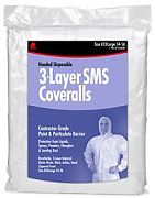 Buffalo 68527 SMS Disposable No Hood Coverall - LG