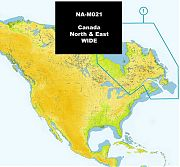 C-Map NA-M021 MAX Canada North and East