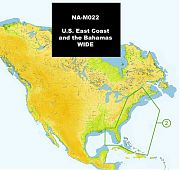 C-Map NA-M022 MAX U.S. East Coast and The Bahamas
