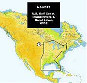C-Map NA-M023 MAX U.S. Gulf Coast and Inland
